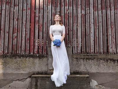 Shooting für 'YesYes' Brautmode