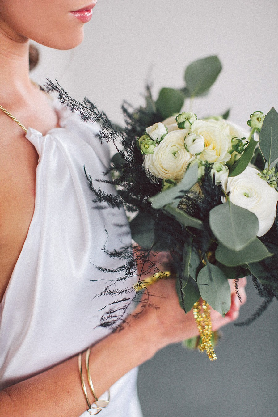Black & Gold // Styled Shoot
