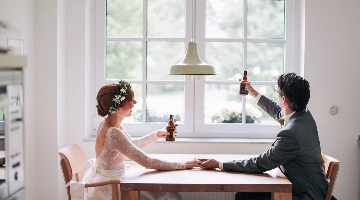Sonja U0026 Michael // Hochzeit Im Wohnzimmer