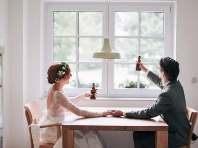 Sonja & Michael // Hochzeit im Wohnzimmer