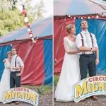 Kristina & Paul // Zirkus-Hochzeit in Hamburg