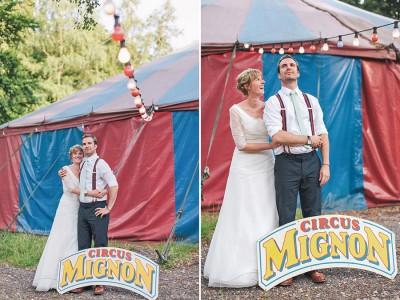 Zirkus-Hochzeit in Hamburg