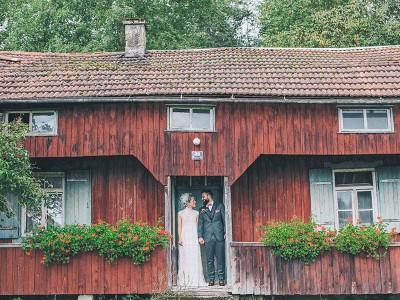 Hochzeit Vintage Haus