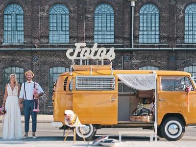 Der Fotobulli // Unser VW Bus mit Photobooth