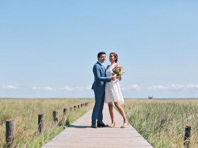Florence & Tobias // Kleine Hochzeit auf Sylt